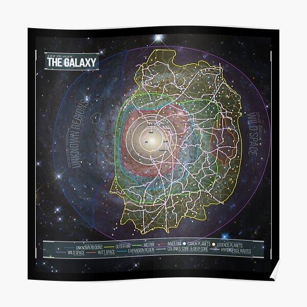 La galaxia Póster