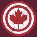 Captain Canada (Distressed) by trekvix