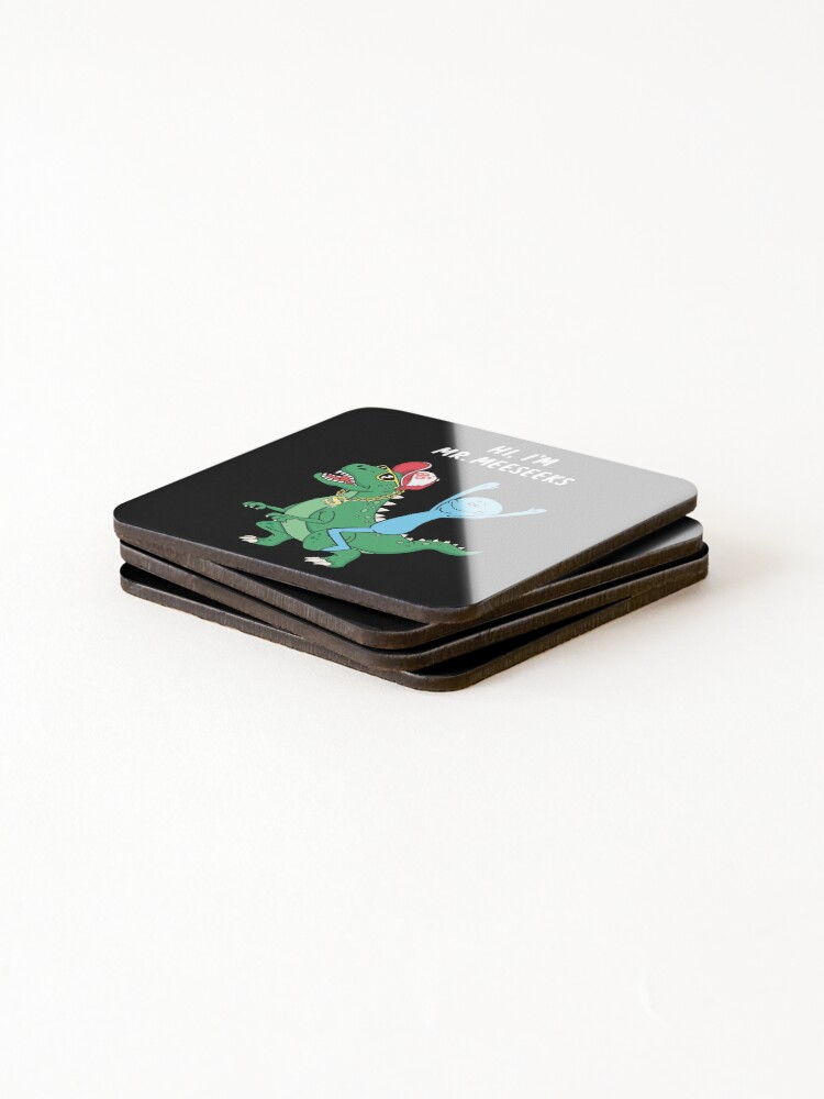 Alternate view of Rick and Morty Mr Meeseeks Riding Dinosaur Coasters (Set of 4)