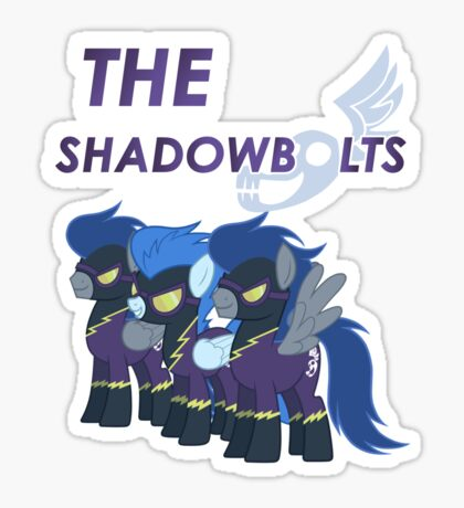 the shadowbolts Sticker