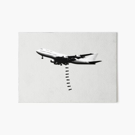 Boeing Run Art Board Print