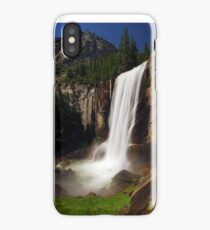 Vernal Fall from Mist Trail iPhone Case/Skin