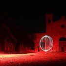 Red Church Orb by G. Brennan