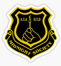 Are You Araid Of The Dark. members of the midnight society Sticker