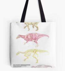Iguanodon Bernissartensis Factsheet Tote Bag