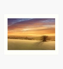 The End of Another Day in Paradise Art Print