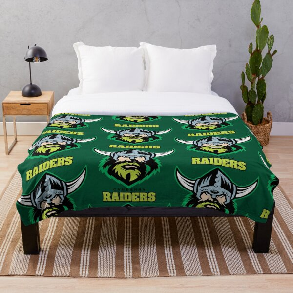 Canberra Raiders Throw Blanket
