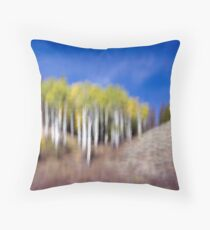 Shapes & Colors of Fall Throw Pillow
