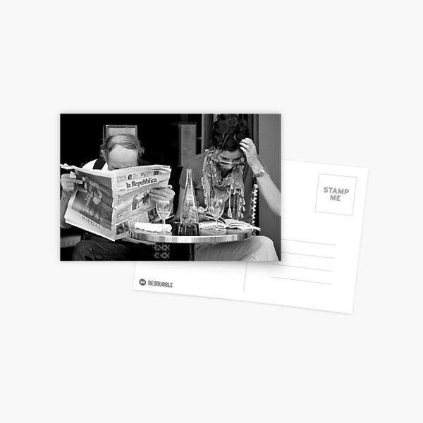 the small print Postcard