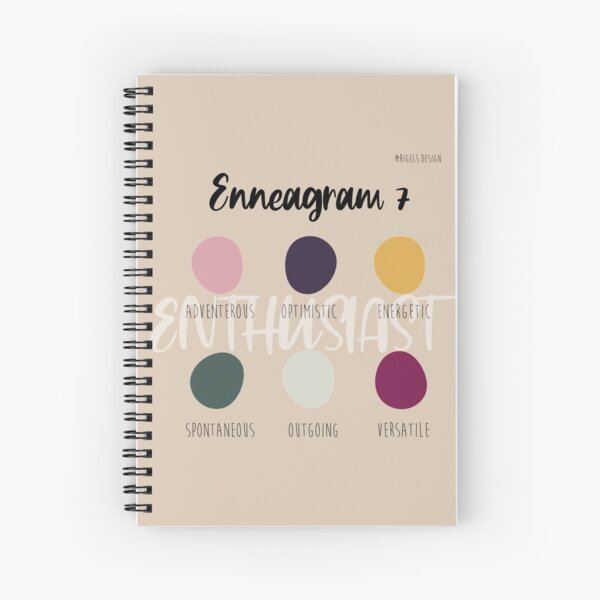 Enneagram 7 Spiral Notebook