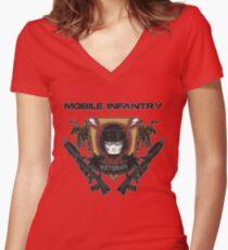 Veteran's Badge- Starship Troopers Women's Fitted V-Neck T-Shirt