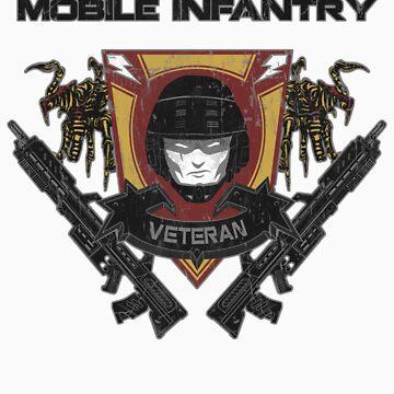 Veteran's Badge- Starship Troopers by spacemonkeydr