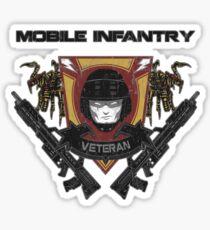 Veteran's Badge- Starship Troopers Sticker