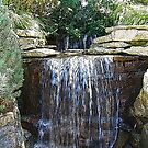 Waterfalls in the Park by Mary Ann Battle