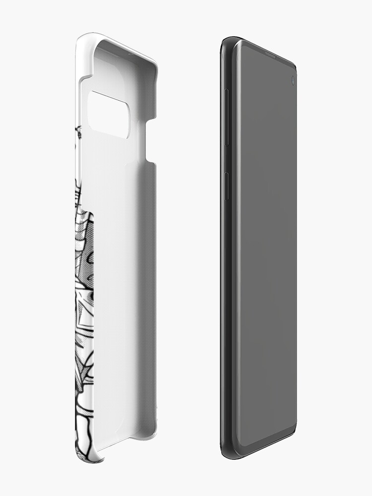 Alternate view of White Wolf Case & Skin for Samsung Galaxy