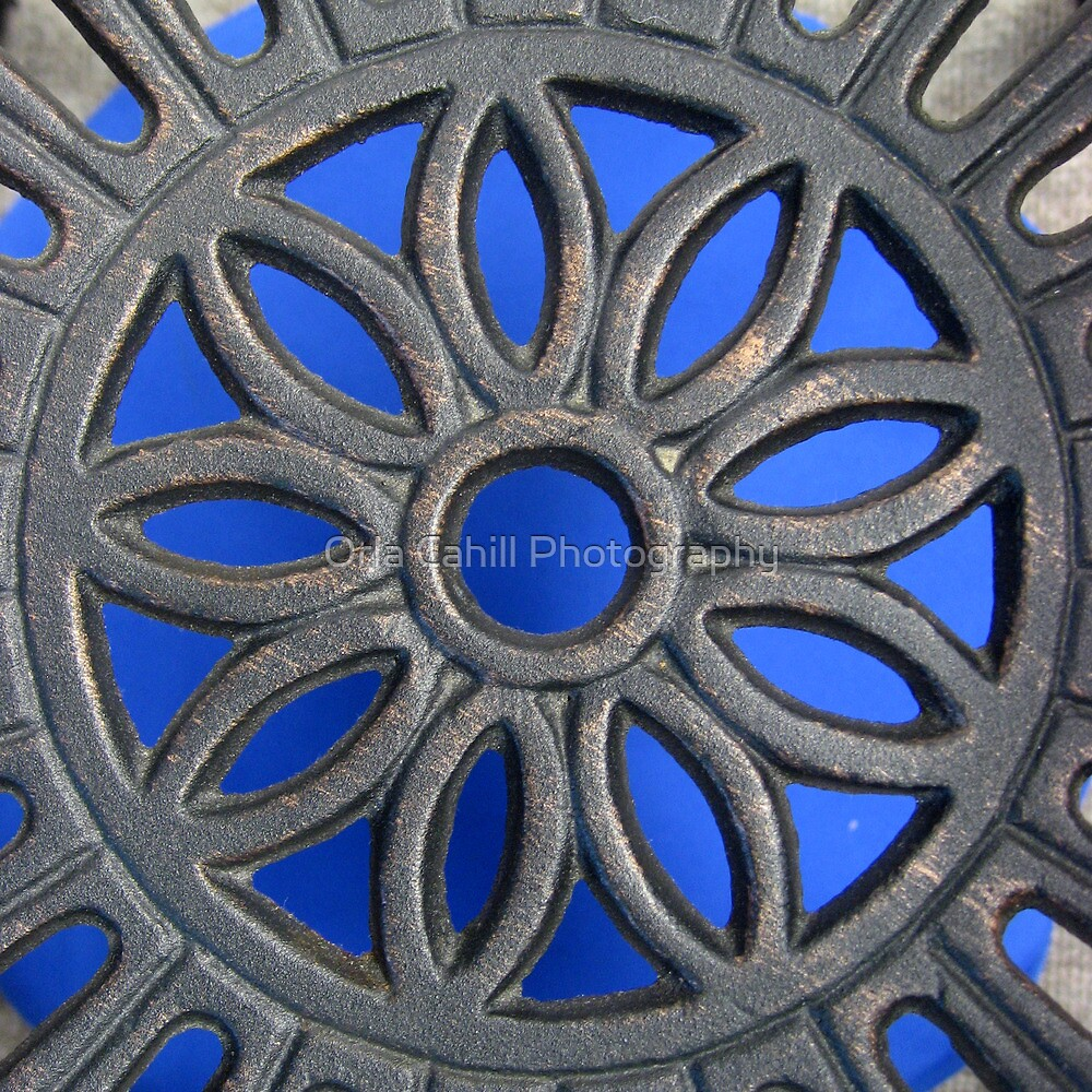 Decorative Blue and Grey by Orla Cahill Photography