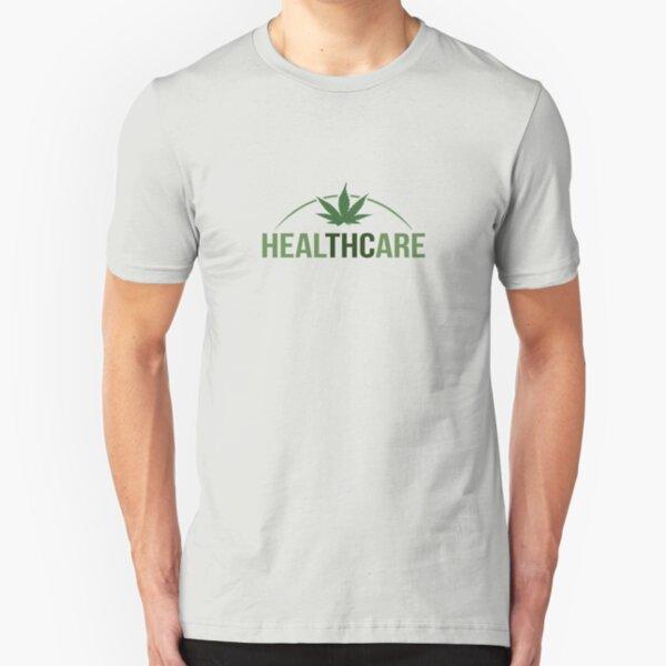 Healthcare - THC Marijuana/Cannabis Slim Fit T-Shirt