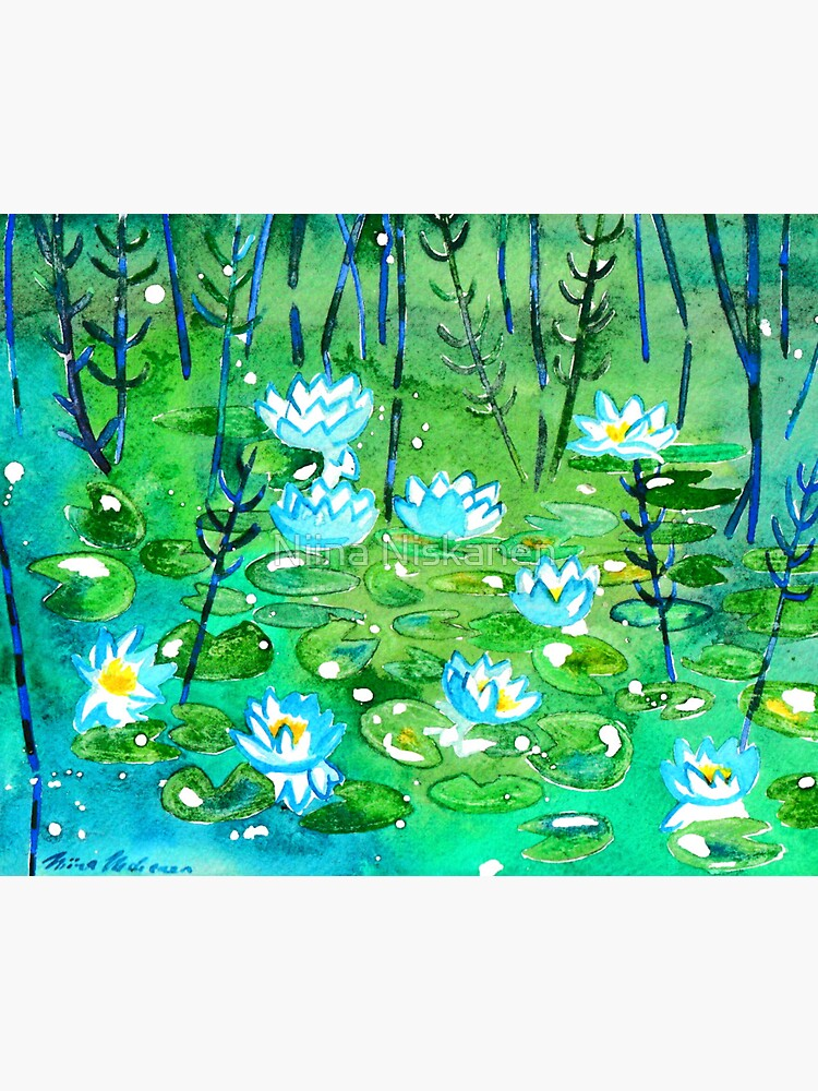 Water Lilies  by fairychamber