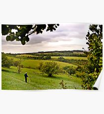 Walking in Fields of Dreams Poster