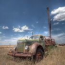 Old Pulling Rigg - Amarillo , Texas by jphall