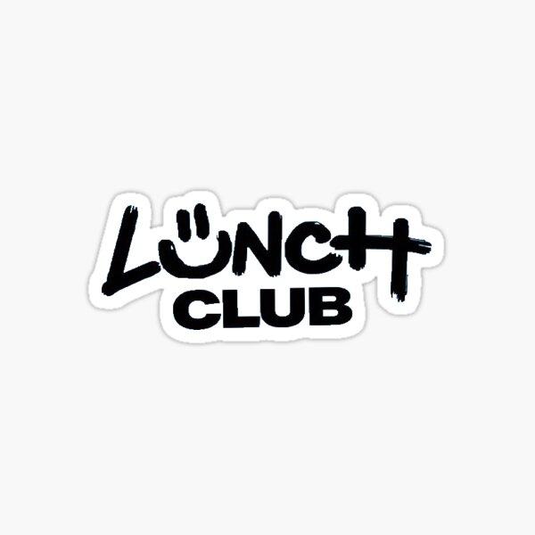 Lunch Club Sticker Sticker