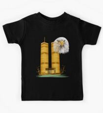 Gold Twin Towers and Eagle Kids Clothes