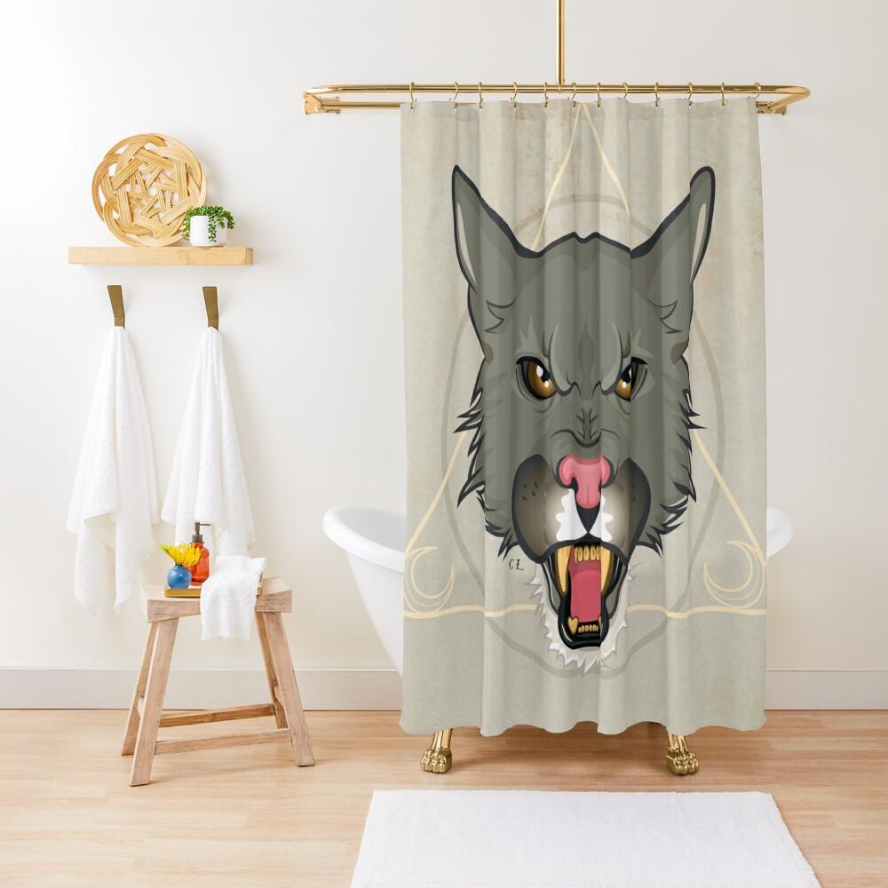 Puma Cat Shower Curtain