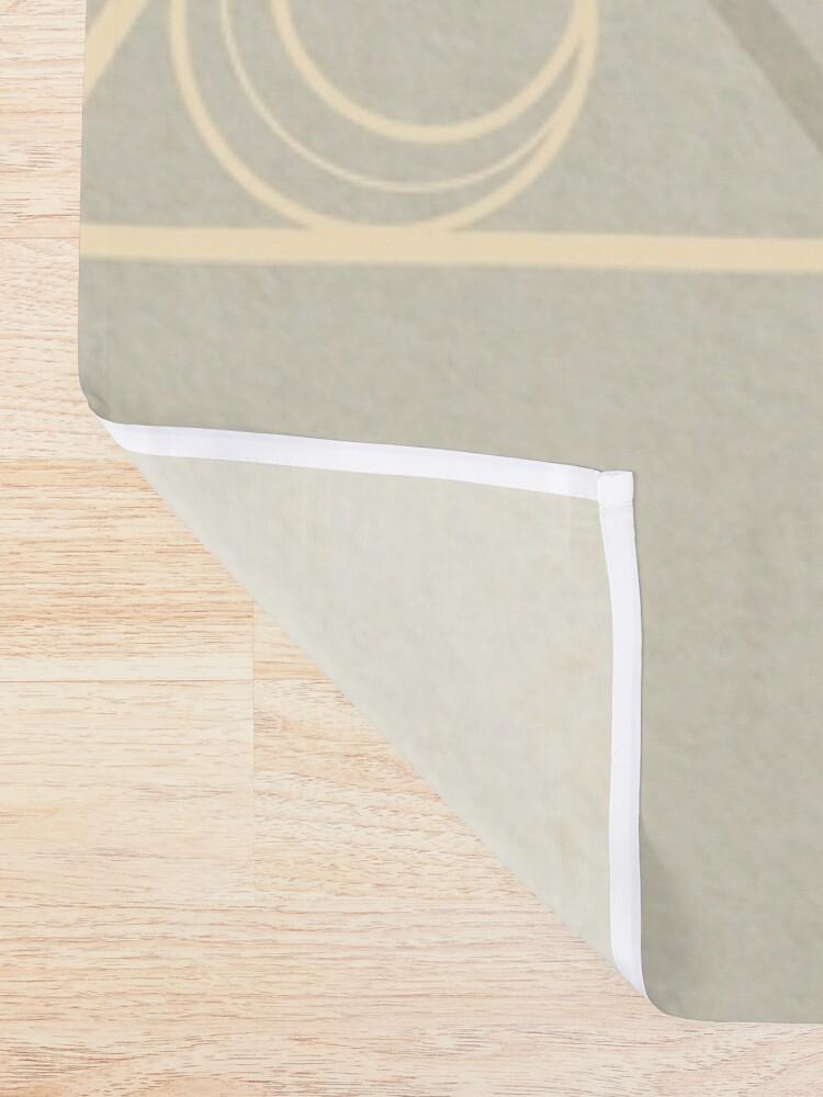 Alternate view of Puma Cat Shower Curtain