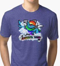 Rainbow Dash Tri-blend T-Shirt