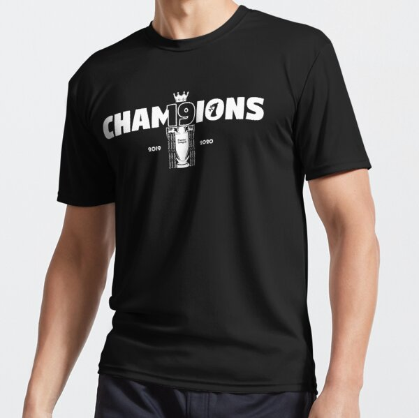 Liverpool - Champions 2019/20 - Number 19 Active T-Shirt