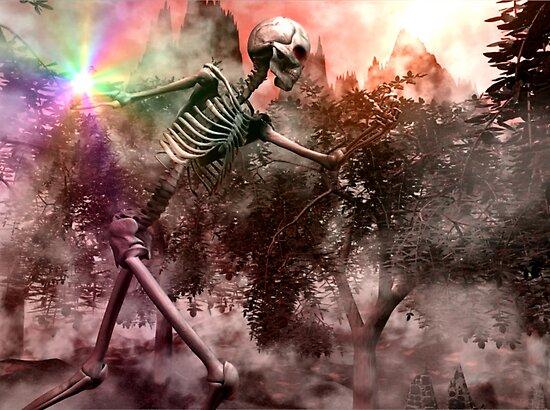 Skeletal War Majician by XadrikXu