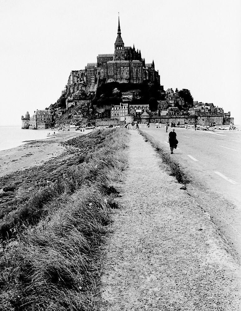 Mont saint michel by james2001 redbubble - Saint james mont saint michel ...