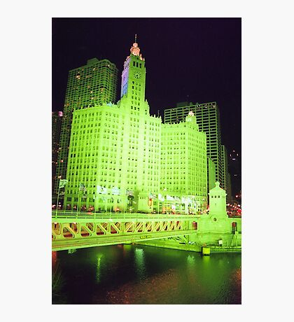 Wrigley Building, Chicago  Photographic Print