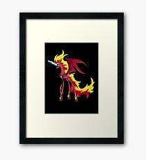 My Little Pony - MLP - Nightmare Sunset Shimmer Framed Print
