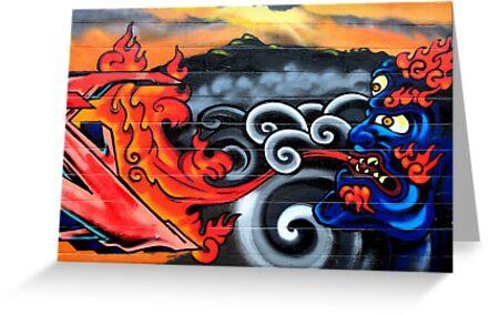 Big City Freaks Graffiti  - part one by Maria  Moro