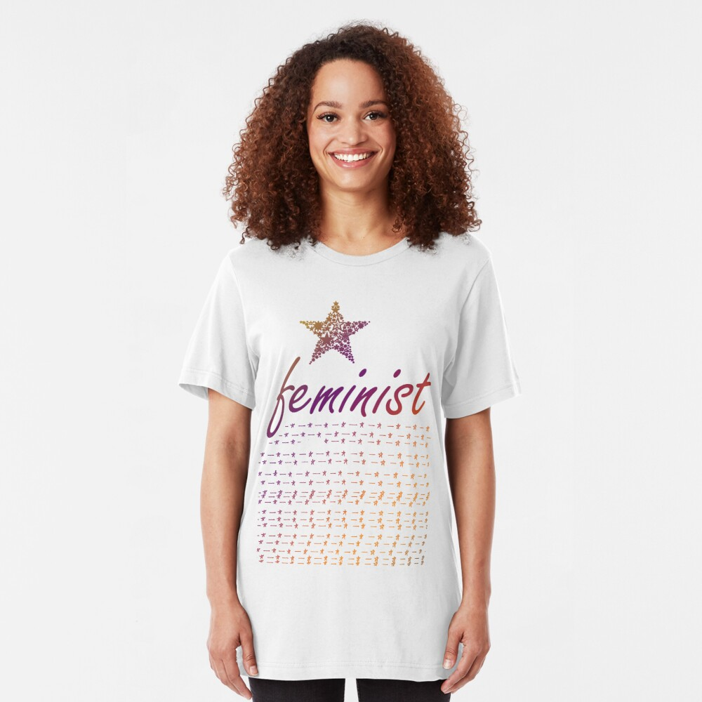 Feminist Star Slim Fit T-Shirt