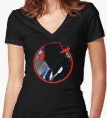 Agent Tracy Women's Fitted V-Neck T-Shirt