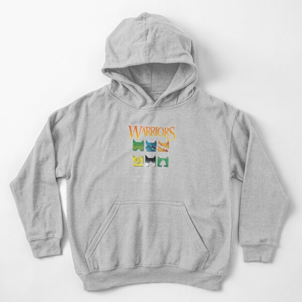 Warrior Cats Clan Icons for Warriors lovers Kids Pullover Hoodie