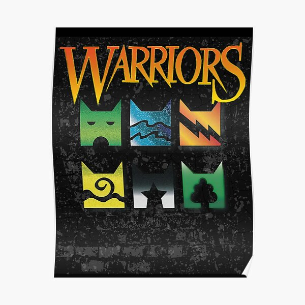 Warrior Cats Clan Icons for Warriors lovers Poster