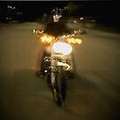 Ghost Rider by Glennis  Siverson