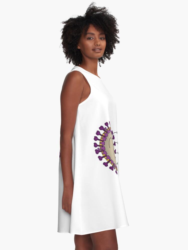 Alternate view of Coronaviruses: The Next Disease X? - The Native Antigen Company A-Line Dress