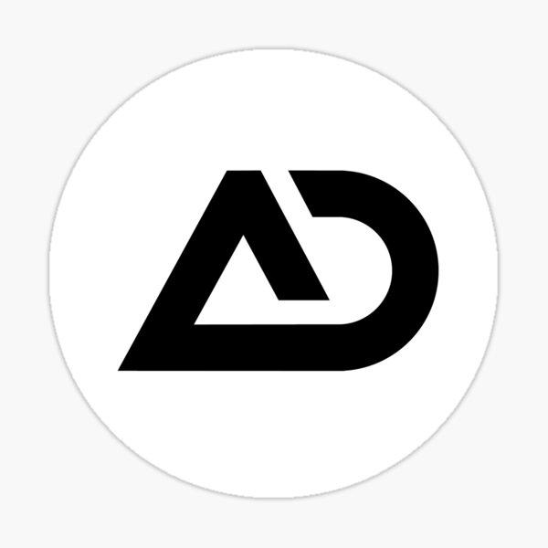 Alex Denada logo Sticker