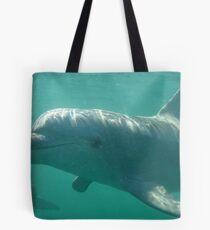 Common Bottlenose Dolphins (Tursiops truncatus) - Point Lowly Peninsula, South Australia Tote Bag