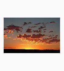 Sunrise on the Horizon Photographic Print