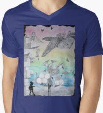 Night Stalkers at Dusk Mens V-Neck T-Shirt