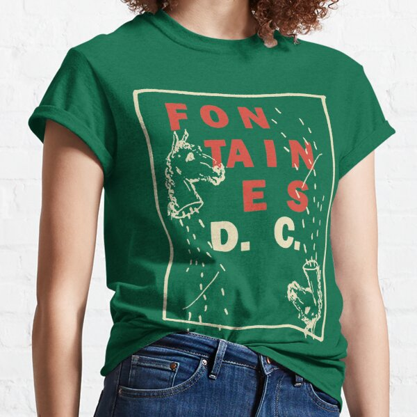 Onedos FONTAINES Show D.C. American DC Tour 2020 Classic T-Shirt