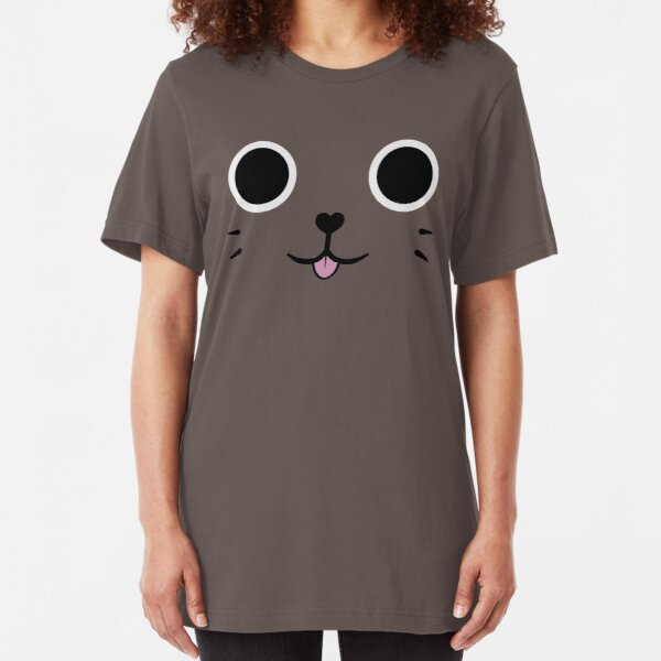 Catsack Face Slim Fit T-Shirt