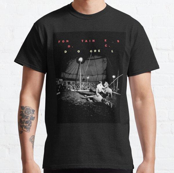 Fourdos FONTAINES Show D.C.American DC Tour 2020 T-shirt classique