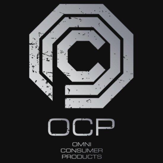 TShirtGifter presents: robocop ocp