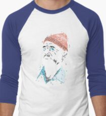 Zissou of Fish Men's Baseball ¾ T-Shirt